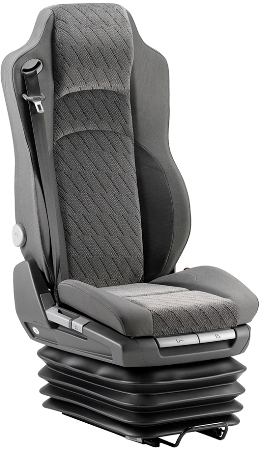 KAB GSX 3000 Air suspension truck drivers seat with belt