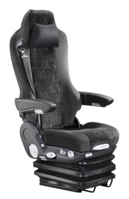 Grammer Kingman Air suspension truck drivers seat with belt